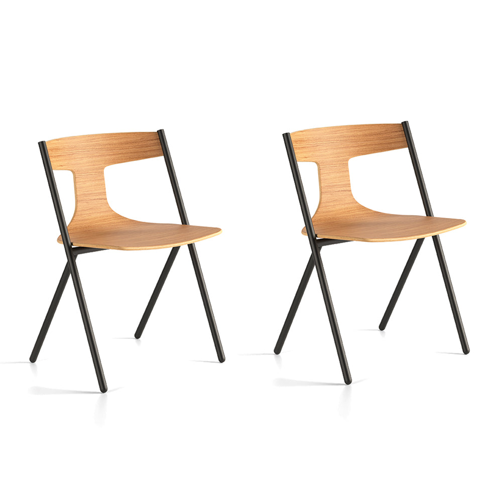 Quadra Chair - Set of 2 by Viccarbe | Do Shop
