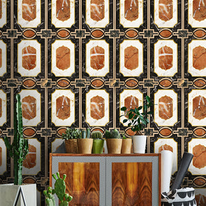 Waldorf Ochre Collectables Wallpaper - MINDTHEGAP - Do Shop
