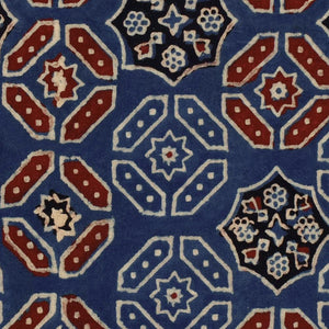 Ajrak Blue Home of an Eccentric Man Wallpaper by MINDTHEGAP | Do Shop
