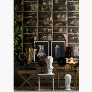Greek Pottery Home of an Eccentric Man Wallpaper by MINDTHEGAP | Do Shop