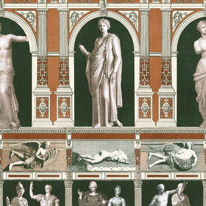 Statues Antique Home of an Eccentric Man Wallpaper by MINDTHEGAP | Do Shop