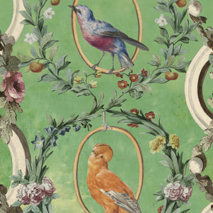 Countesse's Aviarium Transylvanian Manor Wallpaper by MINDTHEGAP | Do Shop