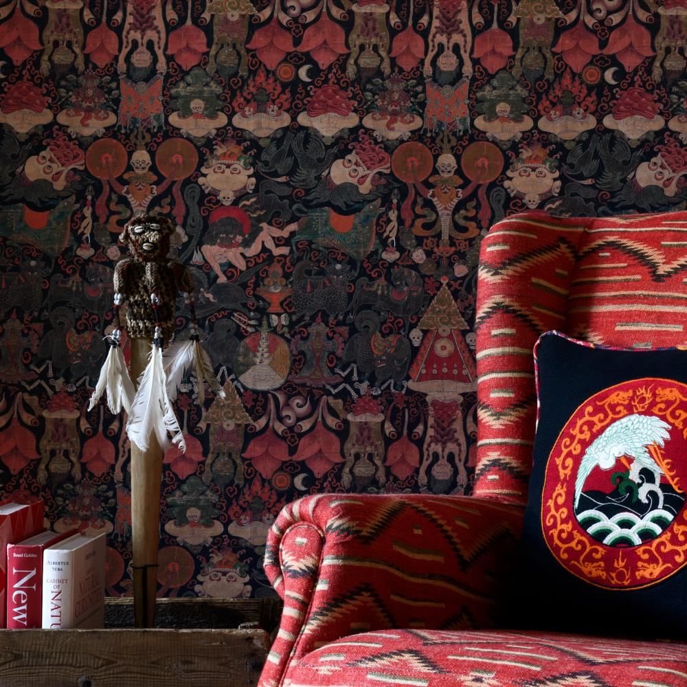 Yama Dharmaraja Wallpaper - Compendium Collection by MINDTHEGAP | Do Shop