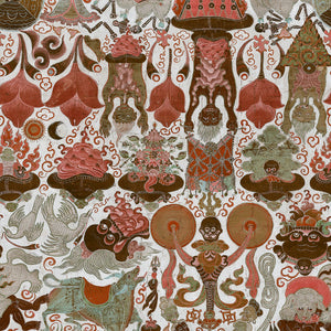 Yarma Dharmaraja Home of an Eccentric Man Wallpaper by MINDTHEGAP | Do Shop