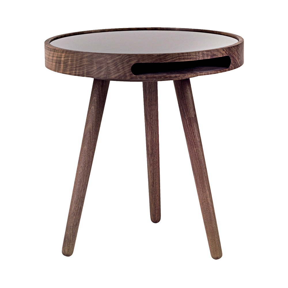 Malin Side Table With Glass Top by Woak | Do Shop