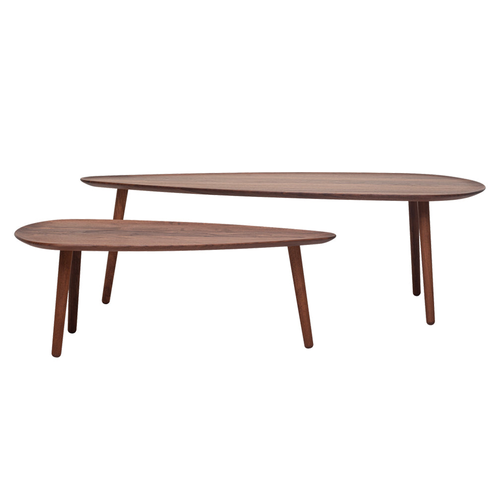 Malin Coffee Table With Wood Legs by Woak | Do Shop