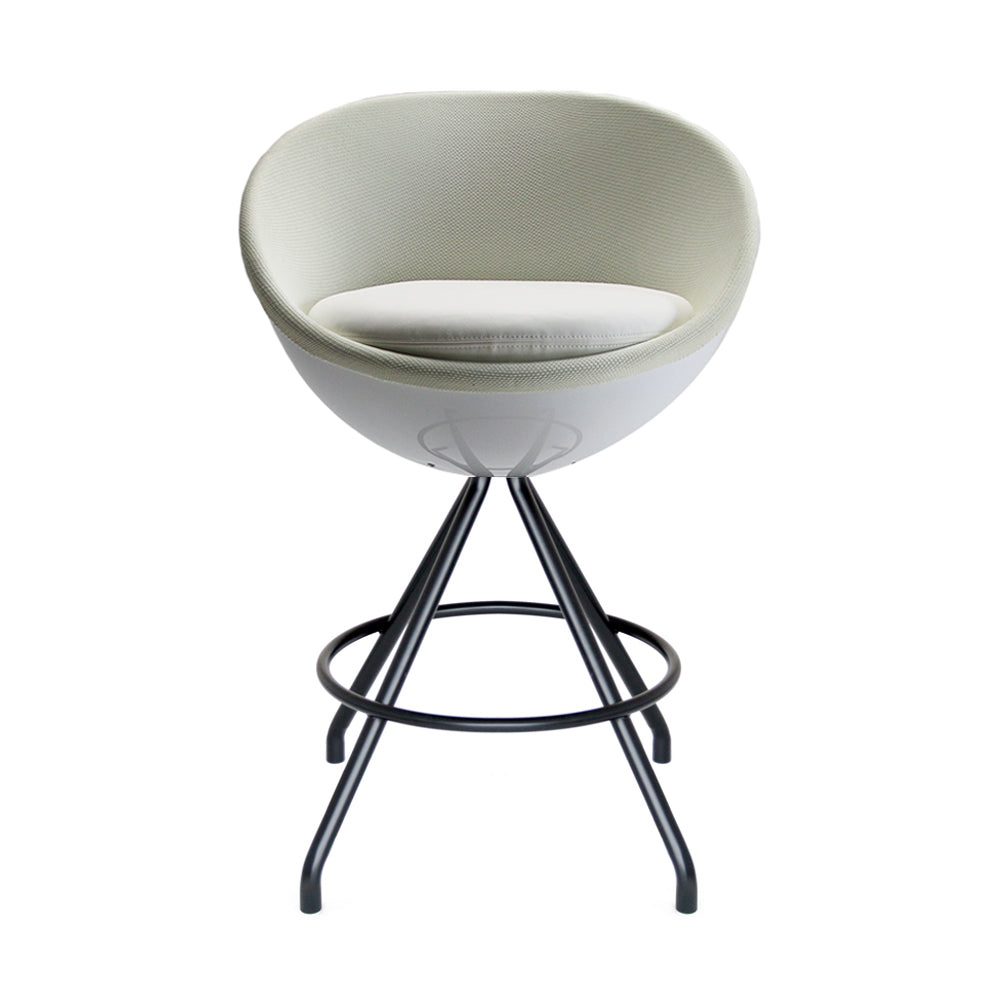 Remarkable Art White Ball Counter Stool Caraccident5 Cool Chair Designs And Ideas Caraccident5Info