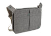 Bellows Messenger Bag - Grey