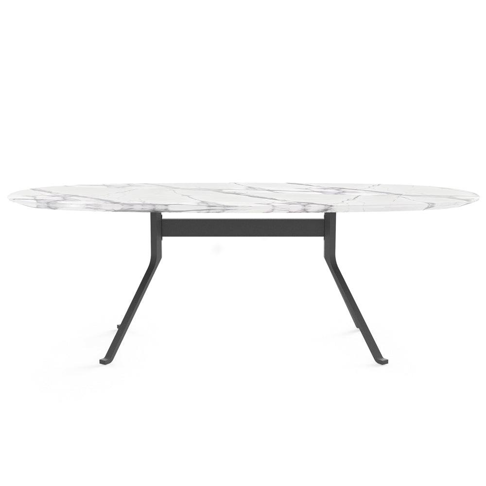 Blink Oval Dining Table - Stone Top - Stellar Works - Do Shop