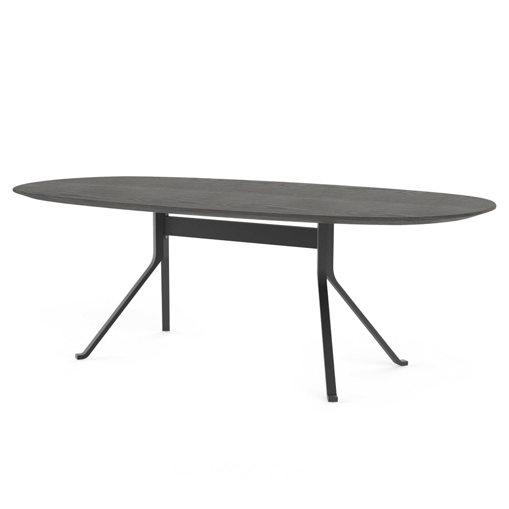 Blink Oval Dining Table - Wood Top - Stellar Works - Do Shop