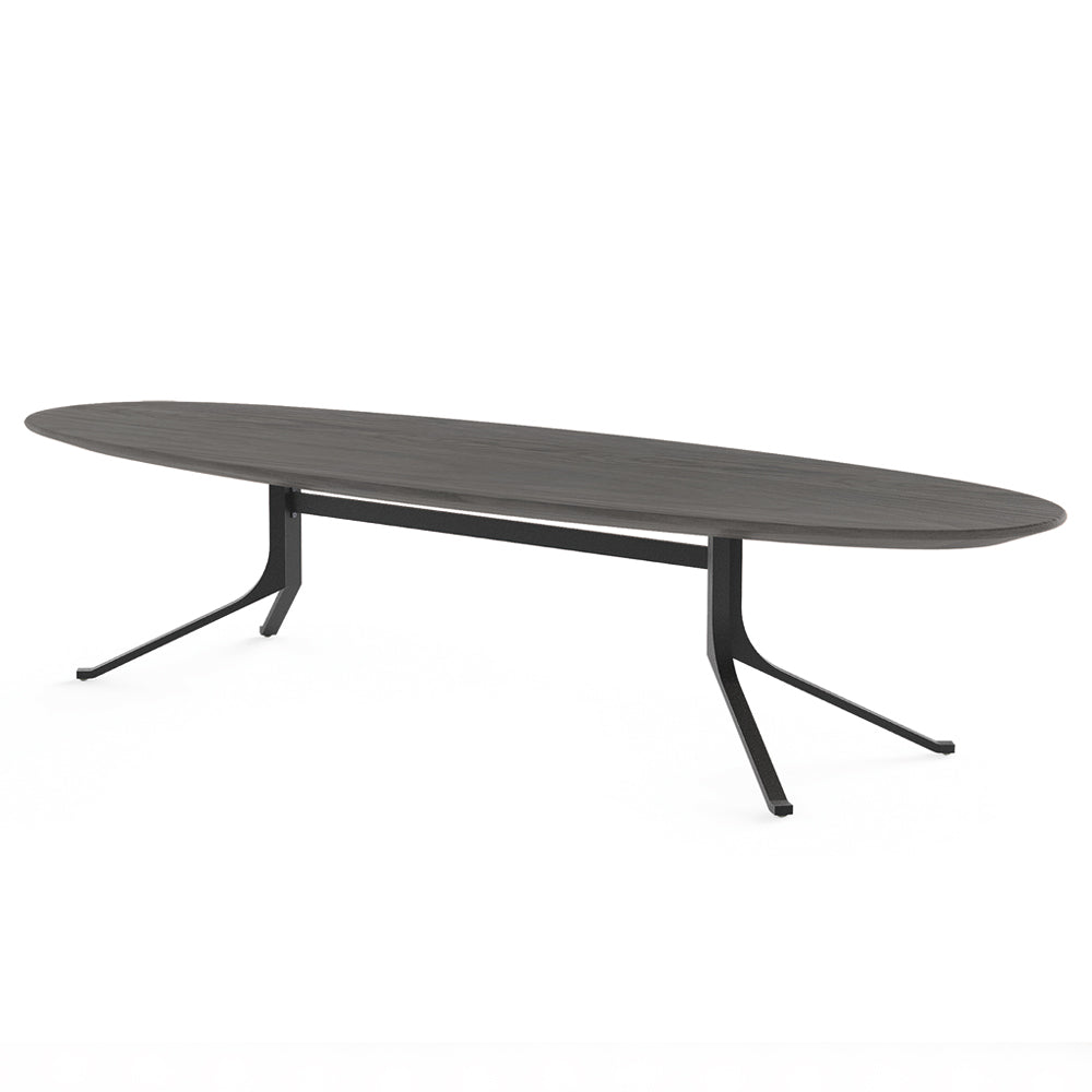 Blink Oval Coffee Table - Wood Top - Stellar Works - Do Shop