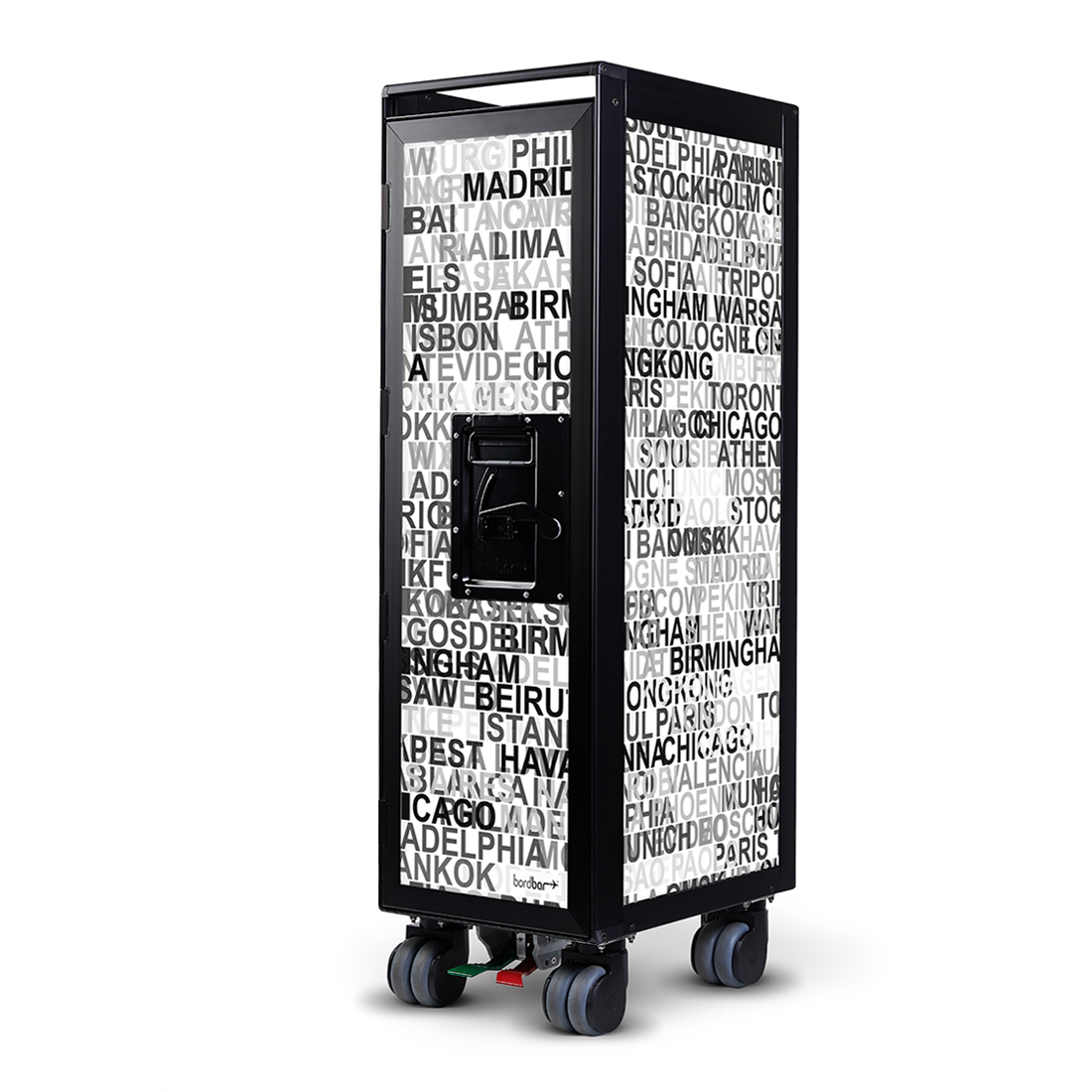 Bordbar Trolley - Black Frame (More Designs Available)