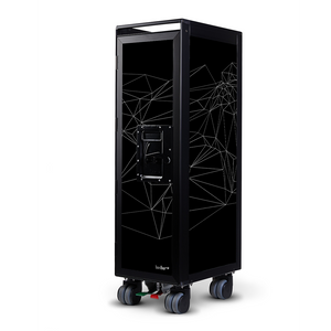 Trolley With Black Frame by Bordbar | Do Shop