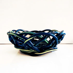 Fish Design Spaghetti Bowl - Blue - Corsi - Do Shop