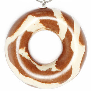 Necklace White Chocolate Donut - Tadam! - Do Shop