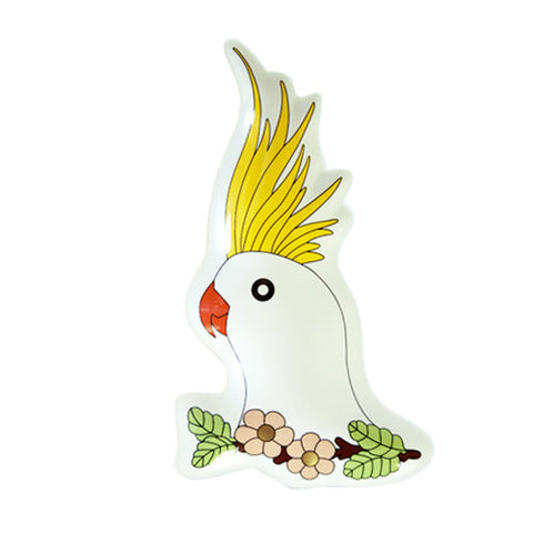 Cockatoo Plate 7 - Sena Gu - Do Shop