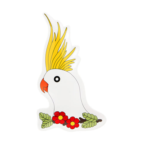 Cockatoo Plate 1 - Sena Gu - Do Shop