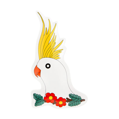 Cockatoo Plate 2 - Sena Gu - Do Shop