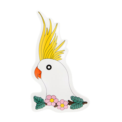 Cockatoo Plate 3 - Sena Gu - Do Shop