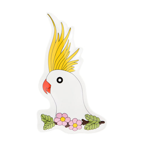 Cockatoo Plate 4 - Sena Gu - Do Shop