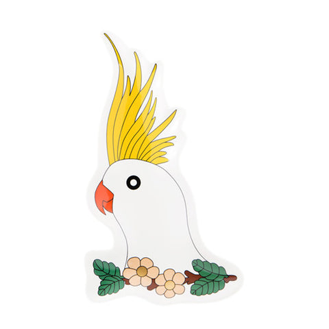 Cockatoo Plate 6 - Sena Gu - Do Shop