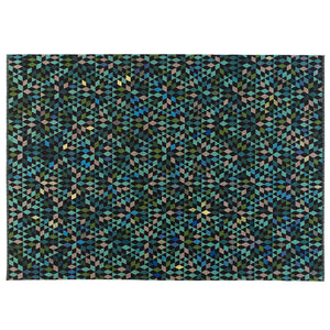 Triangles Rug - Diamond Apple Green - Golran - Do Shop