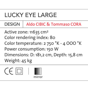 Lucky Eye - Large - OLED Light (BB 78.60) - Blackbody - Do Shop