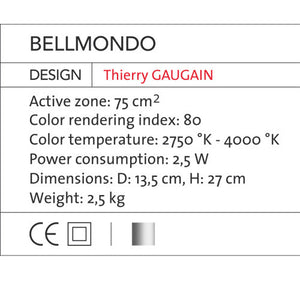 Bell Mondo - OLED Light - Blackbody - Do Shop