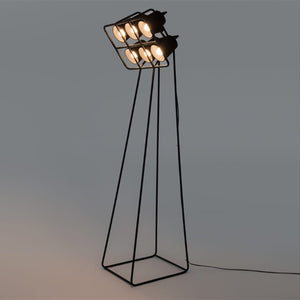 Multilamp Floor Metal Lamp - 6 Lamps - Seletti - Do Shop