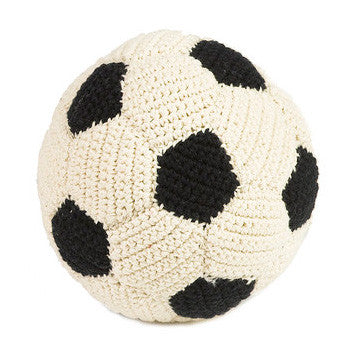 Anne Claire Petit - Do Shop - Knitted Football Rattle