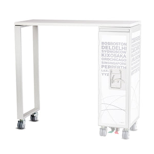 Bordbar High Table Silver by Bordbar | Do Shop