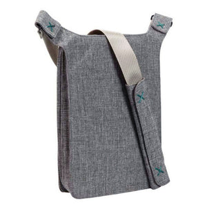 Bellows iPad Shoulder Bag - Dark Grey - Nava - Do Shop