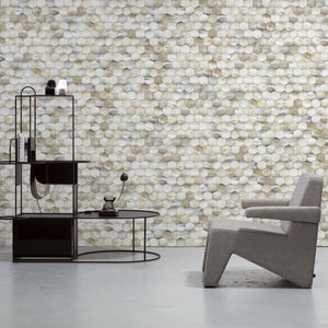 Beehive Wallpaper by Mr & Mrs Vintage for Monochrome Collection - NLXL - Do Shop
