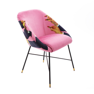 Pink Lipsticks - Padded Chair - Seletti Wears Toiletpaper - Do