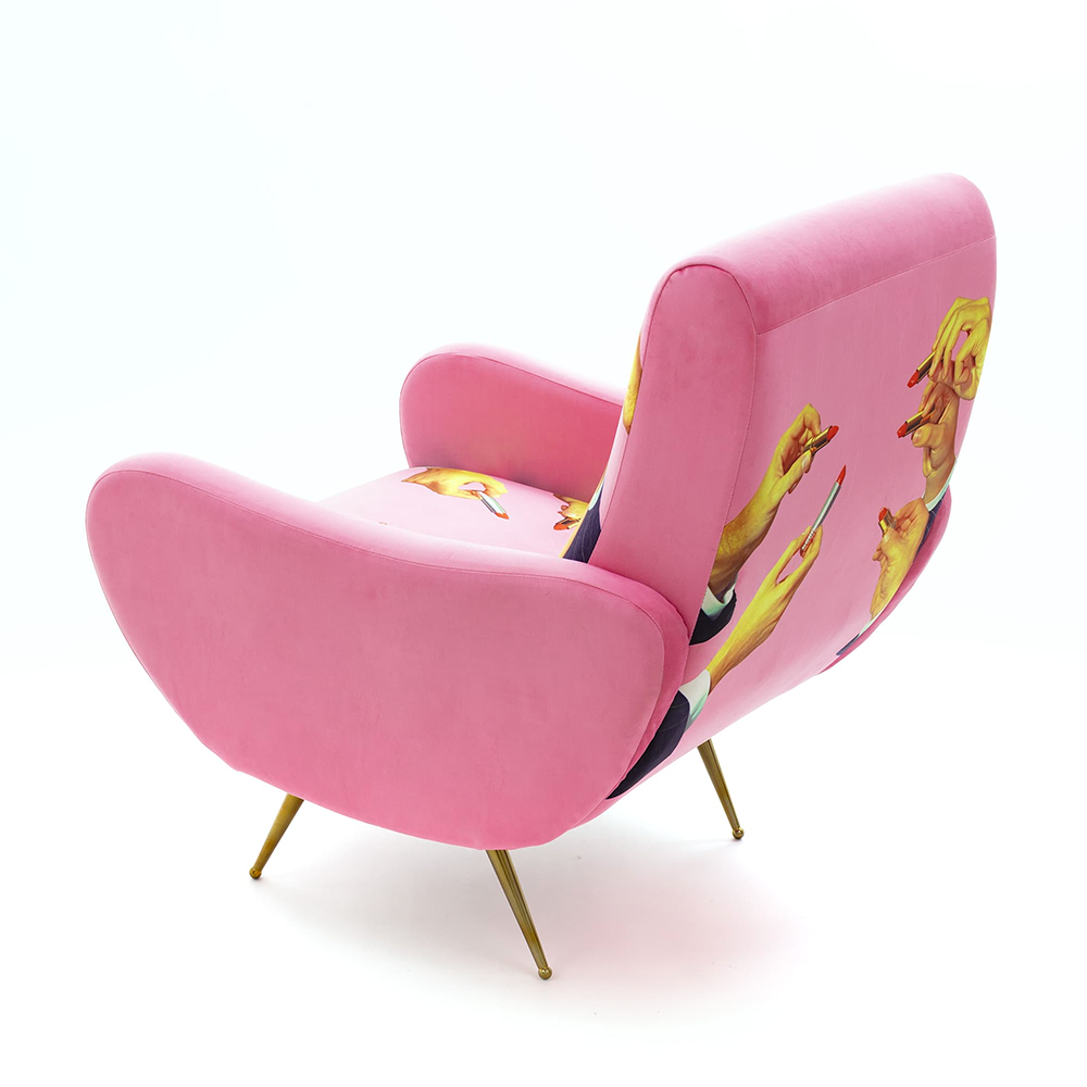 Pink Lipsticks - Armchair - Seletti Wears Toiletpaper - Do