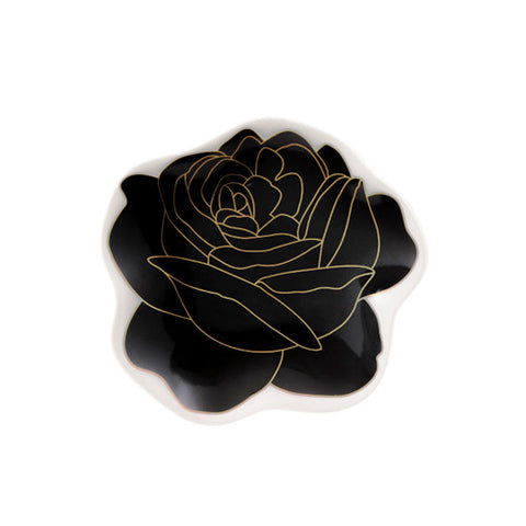 Rose Plate 1 Black - Sena Gu - Do Shop