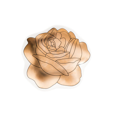Rose Plate 1 Gold - Sena Gu - Do Shop