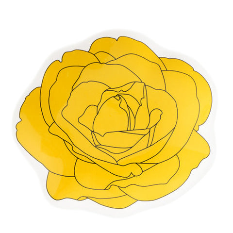 Rose Plate 2 Yellow - Sena Gu - Do Shop