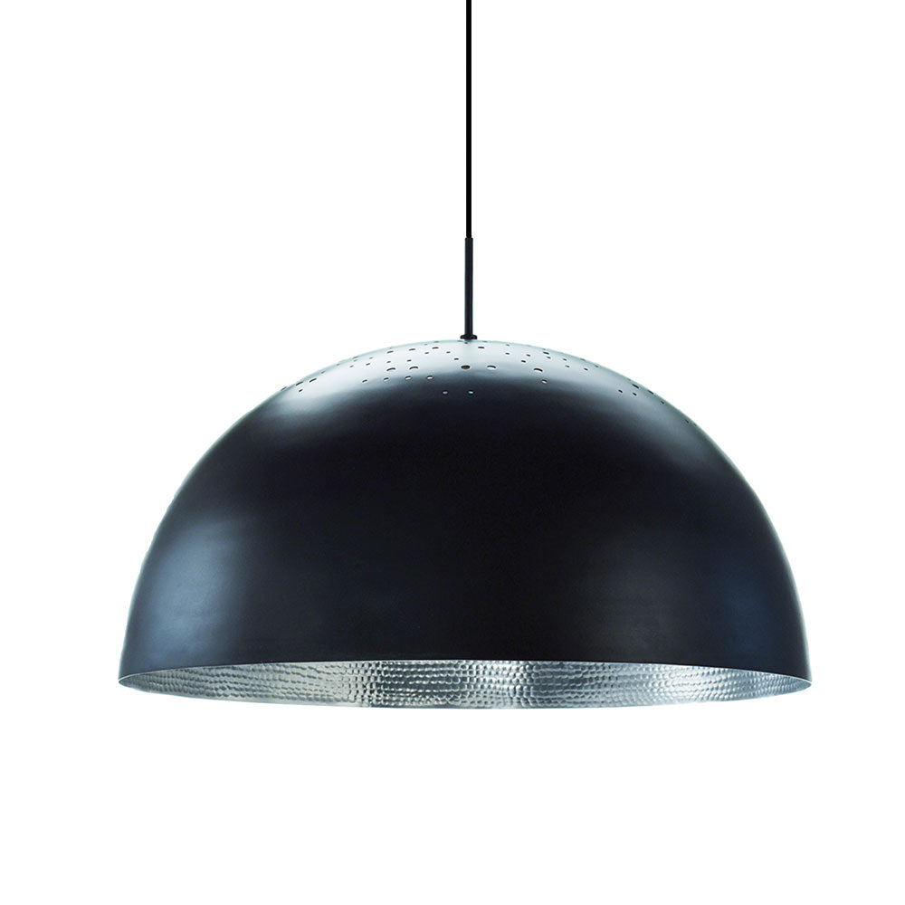 Shade Light Pendant - Black Powder Coated Aluminium - Mater - Do