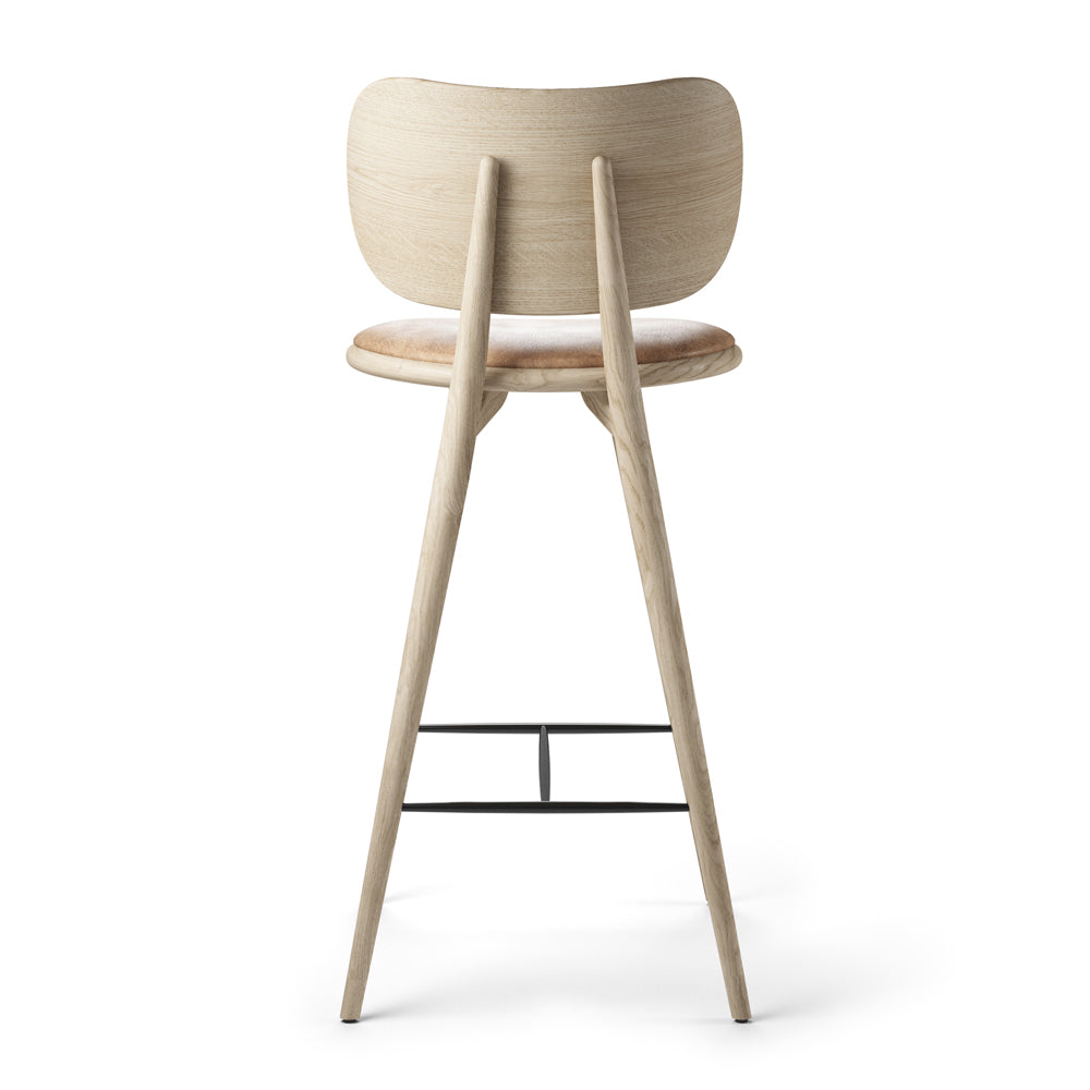 The High Stool With Back Rest - Mater - Do Shop