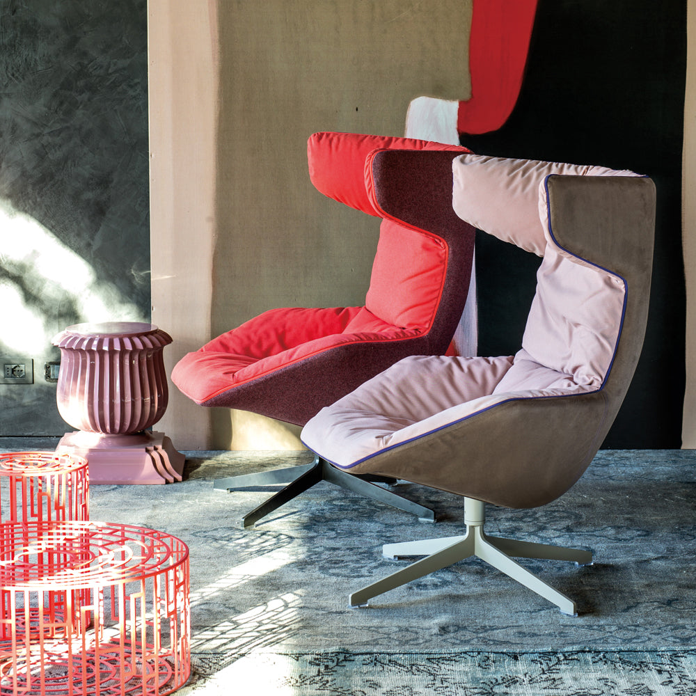 Take a Line for a Walk Swivel Armchair - Moroso - Do Shop