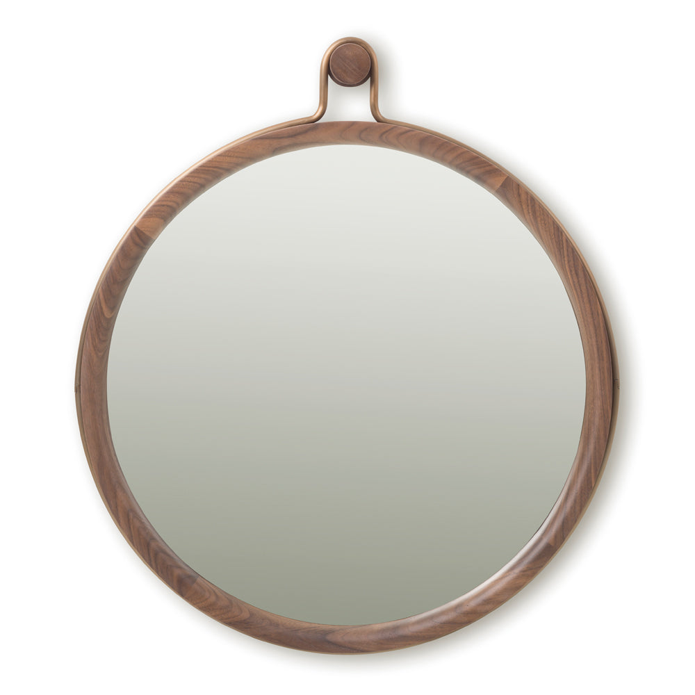 Utility Round Mirror Large - Stellar Works - Do Shop