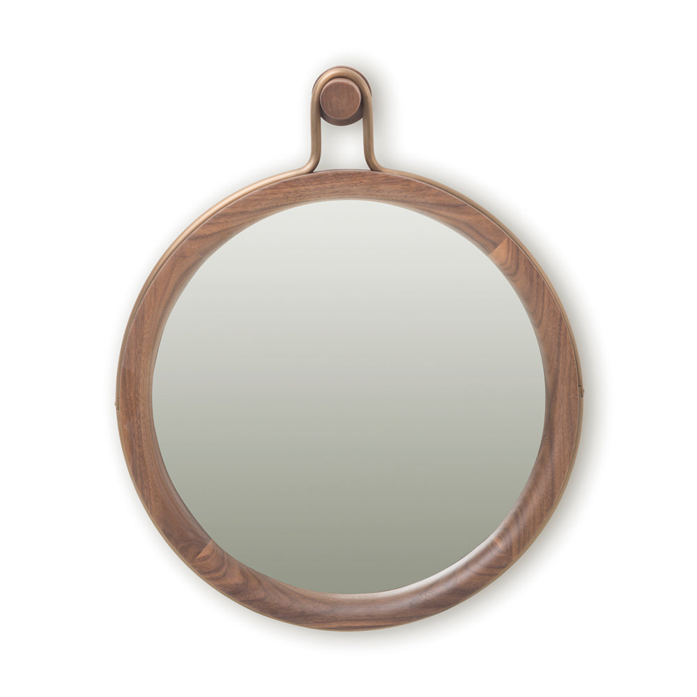 Utility Round Mirror Small - Stellar Works - Do Shop