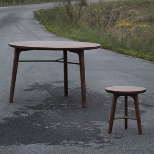 Utility Dining Table Round - Stellar Works - Do Shop