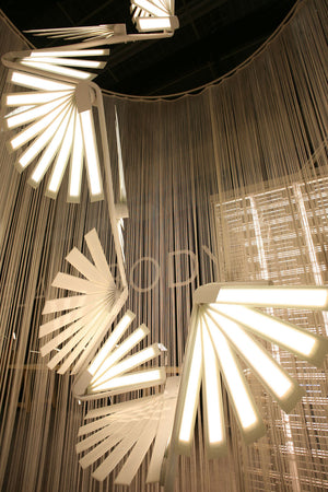 Un Ange Qui Perd Ses Ailes (Angel Wings) - OLED Light - Blackbody - Do Shop
