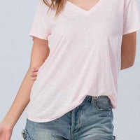 Vintage Cotton Slub Tee - The Salty Mare