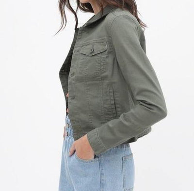 Don't Be Jealous Denim Jacket - The Salty Mare