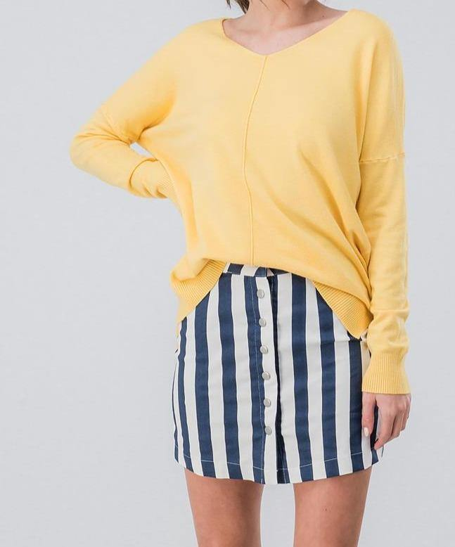 Overboard Mini Skirt - The Salty Mare