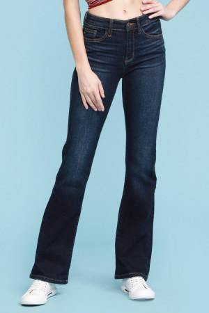 Whiskered Dark Bootcut - The Salty Mare