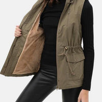 Fur Lined Utility Vest - The Salty Mare